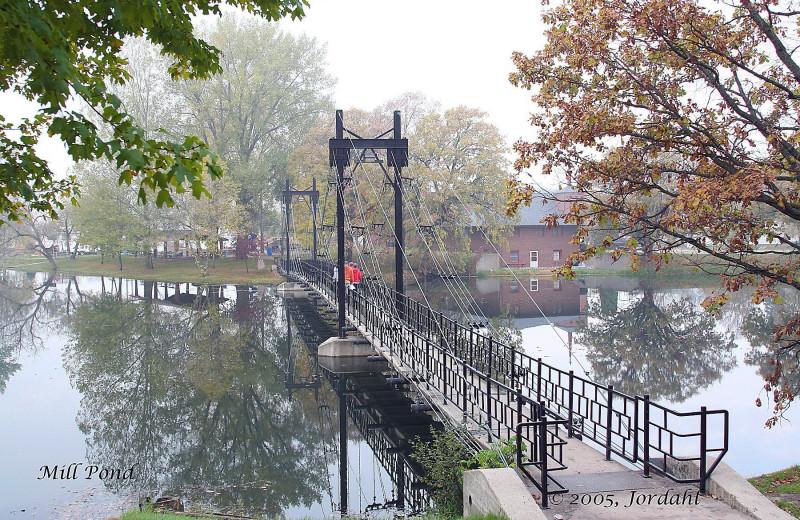 Bridge at Sherin Memorial Park.