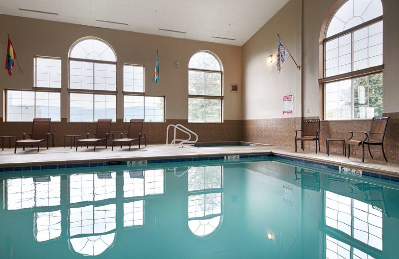 Indoor pool at Best Western Plus Cooperstown Inn