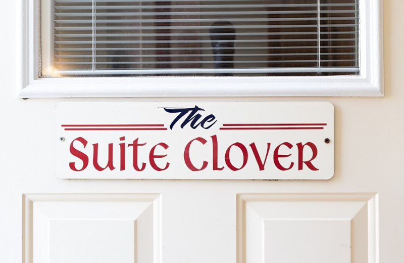 Sweet Clover Suite at Cornerstone Suites.