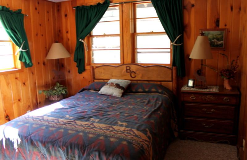 Cabin Bedroom at Bill Cody Ranch