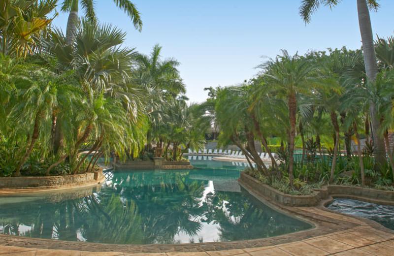 Outdoor pool at Tamarindo Diria Hotel.