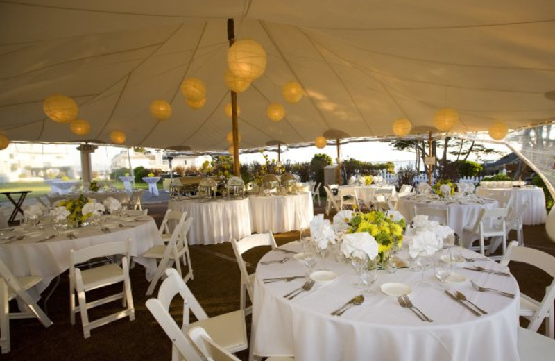 Tent Reception at Oceano Hotel & Spa