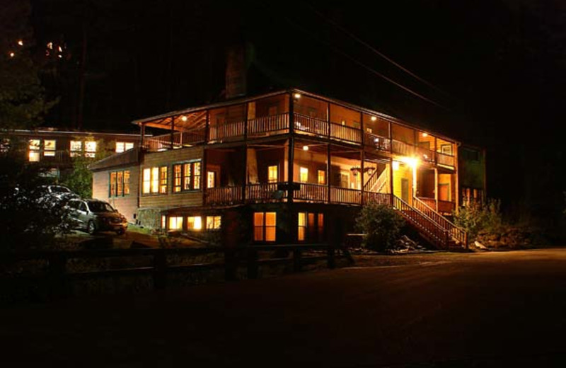 Exterior view of Hisega Lodge.