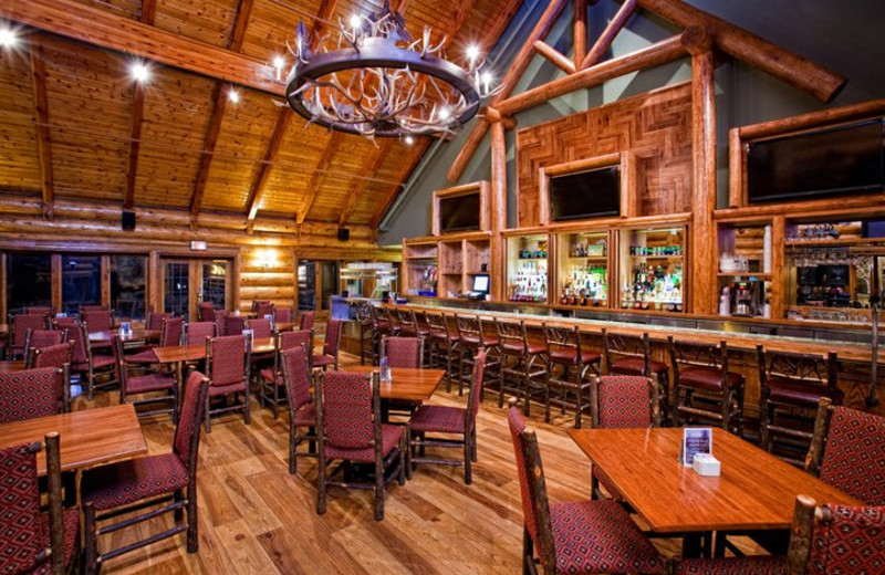 Antlers Bar & Grill at Garland Lodge & Resort.
