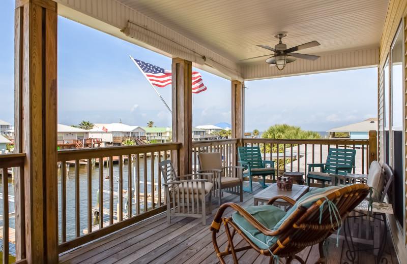 Rental balcony at Boardwalk Realty Inc.