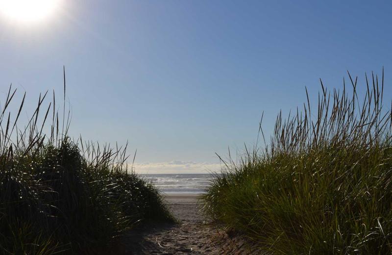 Beach near Beachhouse Vacation Rentals.