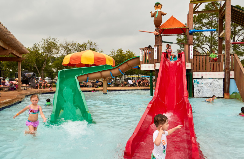 Waterpark at Lone Star Jellystone.