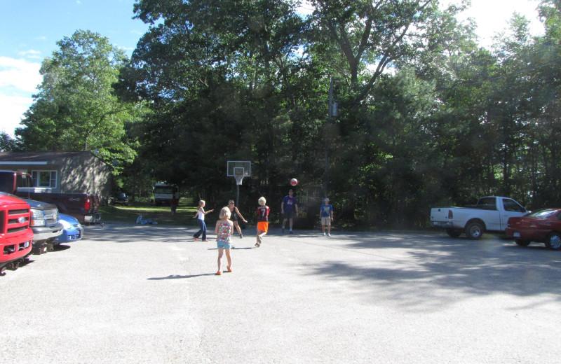 Basketball at Buckhorn Resort.