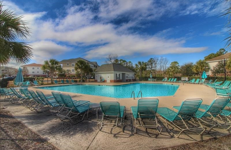 Rental pool at Barefoot Resort Rentals.