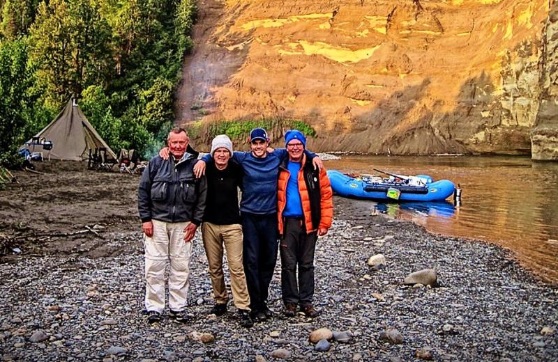 Groups at The Alaska Adventure Company.