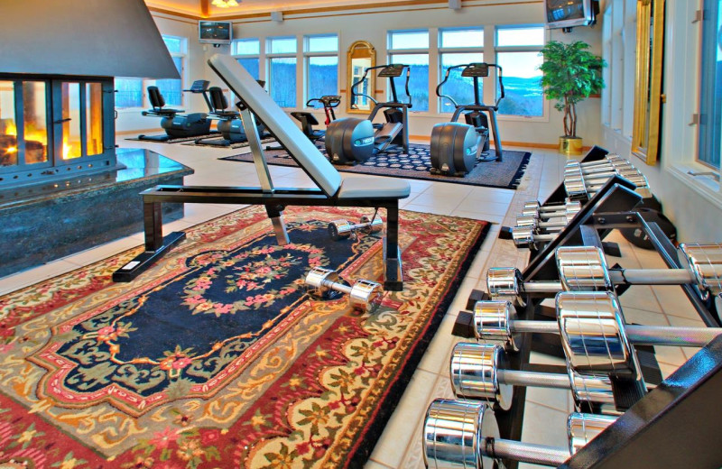 Fitness room at Nordic Village Resort.