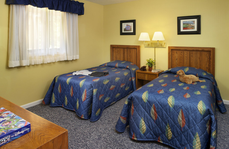 Guest bedroom at Summit Resort.