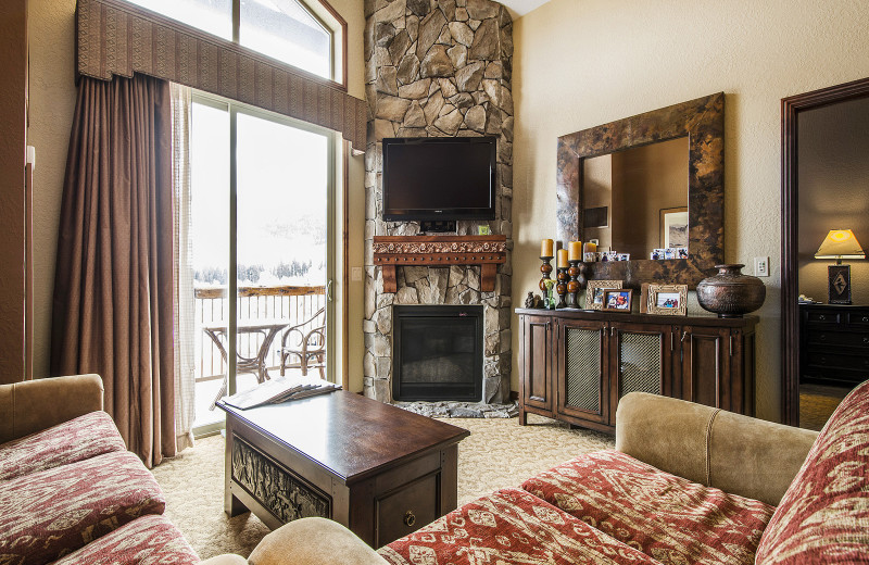 Rental living room at Padzu Vacation Homes - Park City