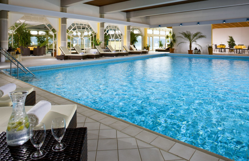 Indoor pool at BEST WESTERN PREMIER Hotel Sonnenhof.