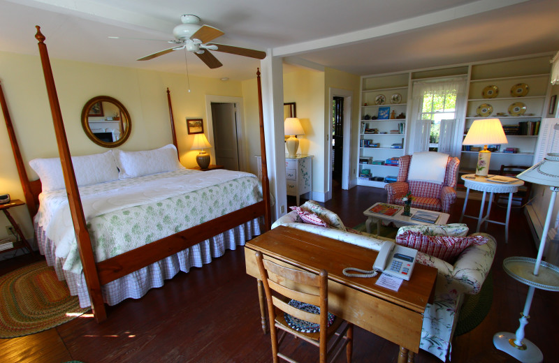 Cottage room at Orchard Inn and Cottages.