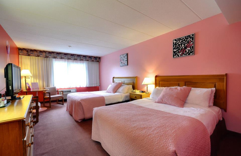 Pink Room at Clarion Resort Pinewood Park
