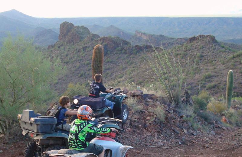 ATV at Rancho De Los Caballeros.