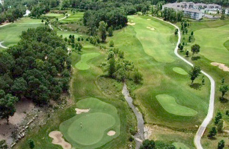 Aerial view at Thousand Hills Golf Resort.