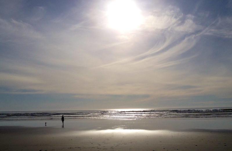 Beach at Lighthouse Oceanfront Resort.