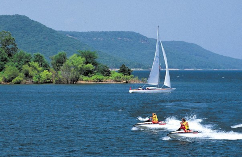 Water activities at Red Apple Inn and Country Club.