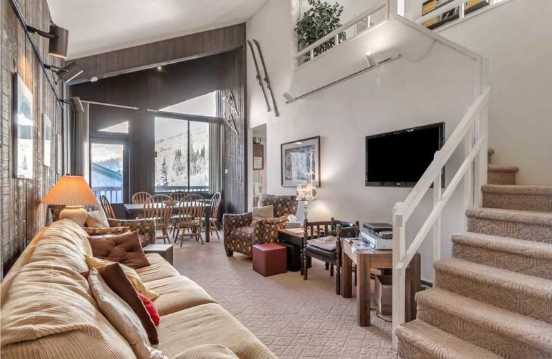 Rental interior at Canyon Services Vacation Rentals.