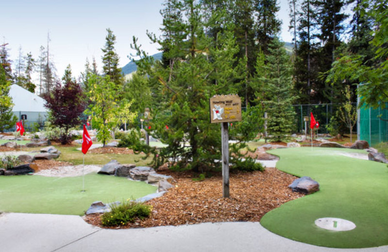 Mini Golf On-Site at the Panorama Vacation Retreat at Horsethief Lodge