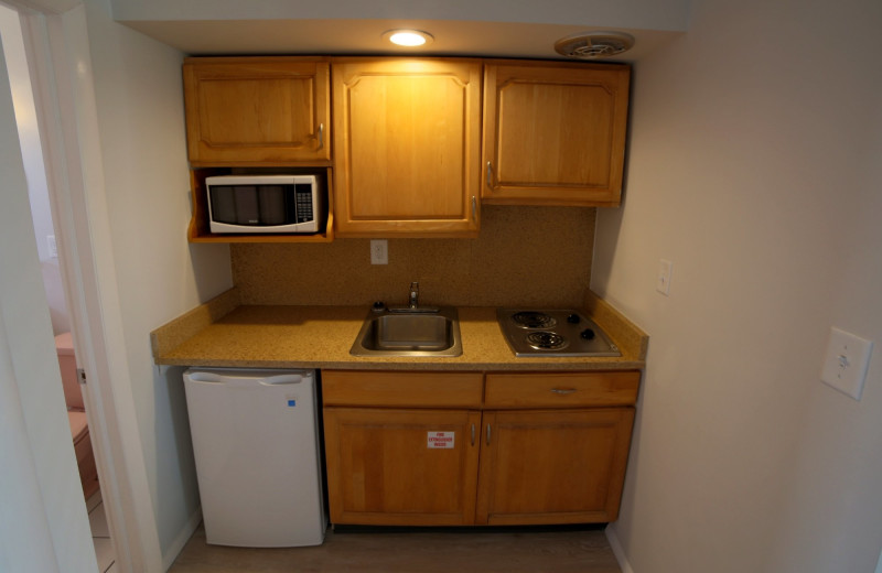 Guest kitchen at The South Winds.