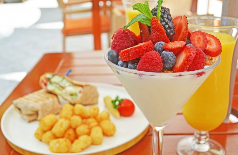 Fresh fruit at Parrot Key Resort.