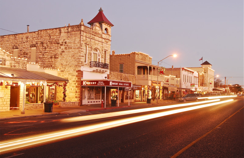 Historic town near Walnut Canyon Cabins.
