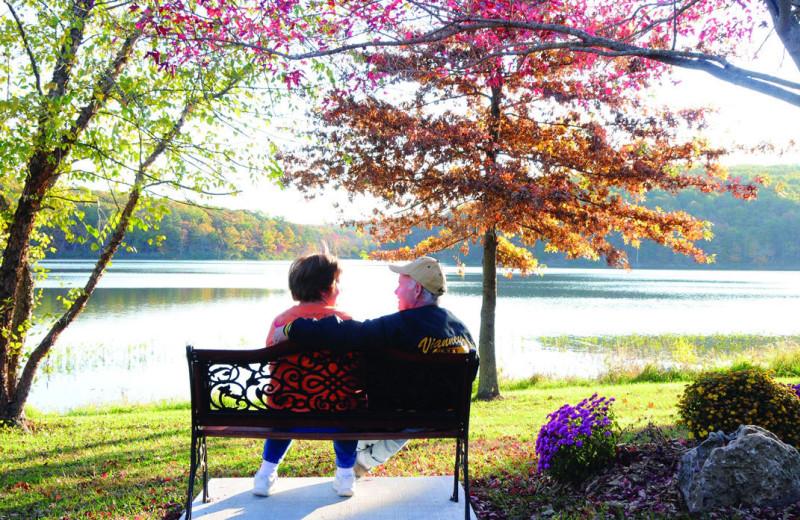 Lake view at YMCA Trout Lodge & Camp Lakewood.
