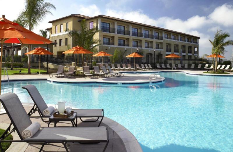 Outdoor pool at Sheraton Carlsbad Resort & Spa.
