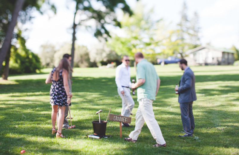 Croquet at Eganridge Resort, Country Club & Spa.