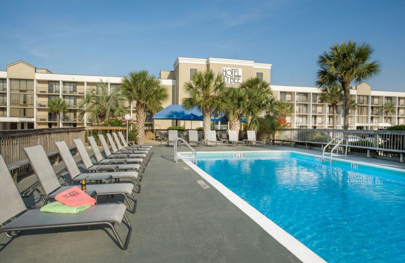 Pool at Hotel Tybee.
