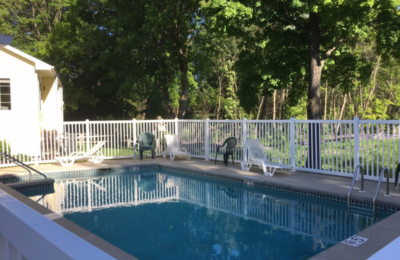 Rental pool at Lundquist Realty Vacation Rentals.