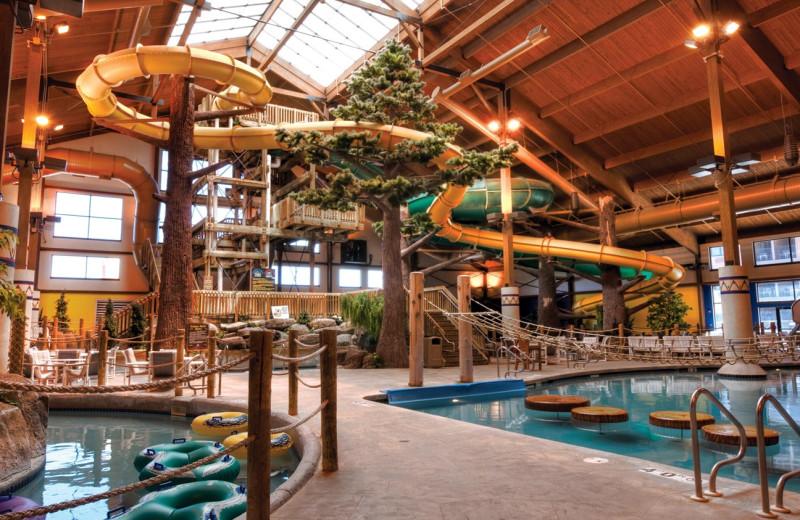 Indoor water park at Timber Ridge Lodge & Waterpark.