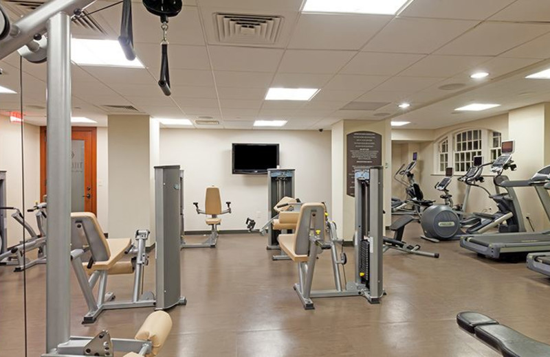 Fitness Center at Hotel Galvez and Spa