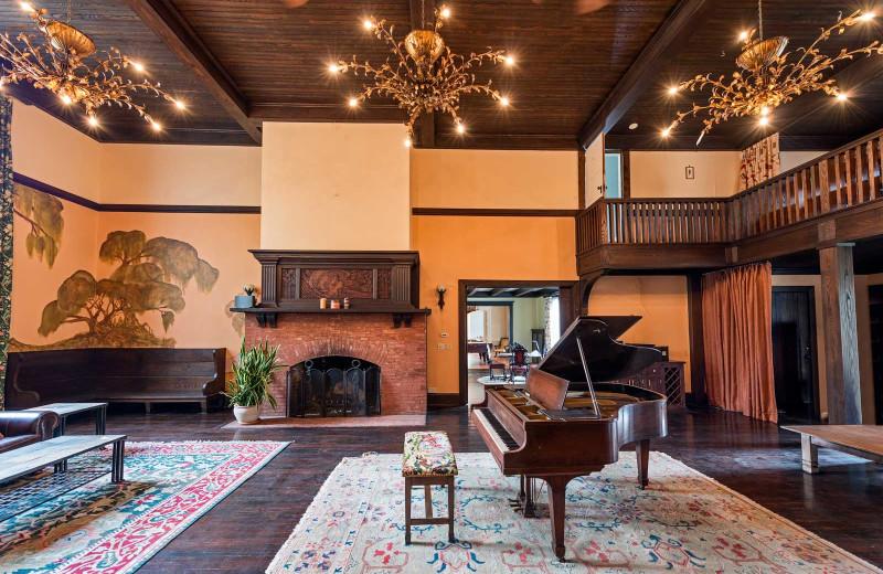 Lobby at Taggart House.