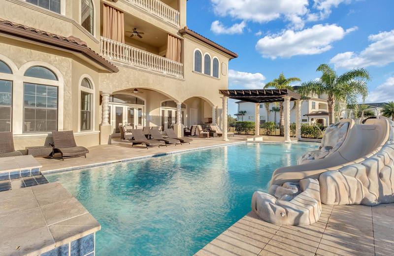 Rental pool at Reunion Vacation Homes.