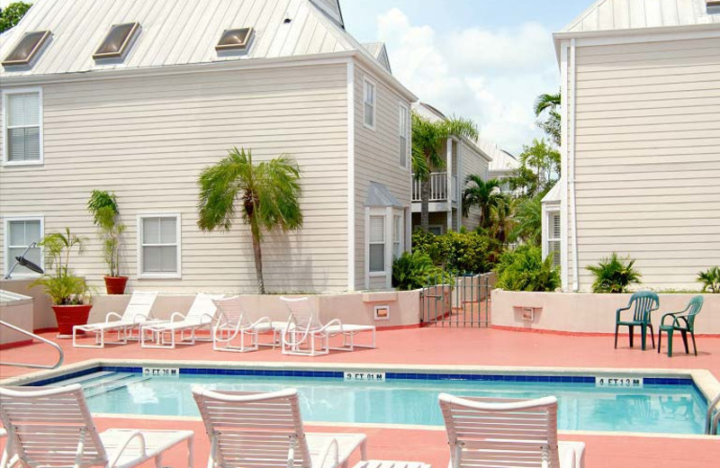 Outdoor pool at Key West At Its Best.