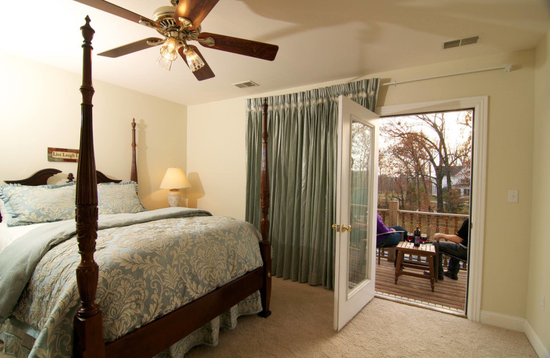 Guest room at Southern Grace Bed & Breakfast.