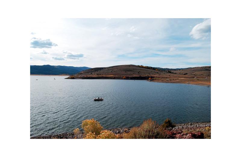 Lake near Marianna Inn.