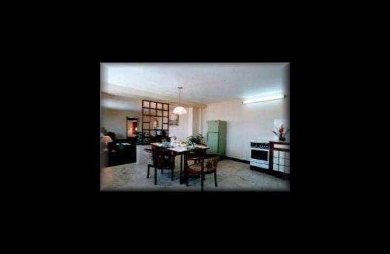 Guest room at Bluestar Hotel.