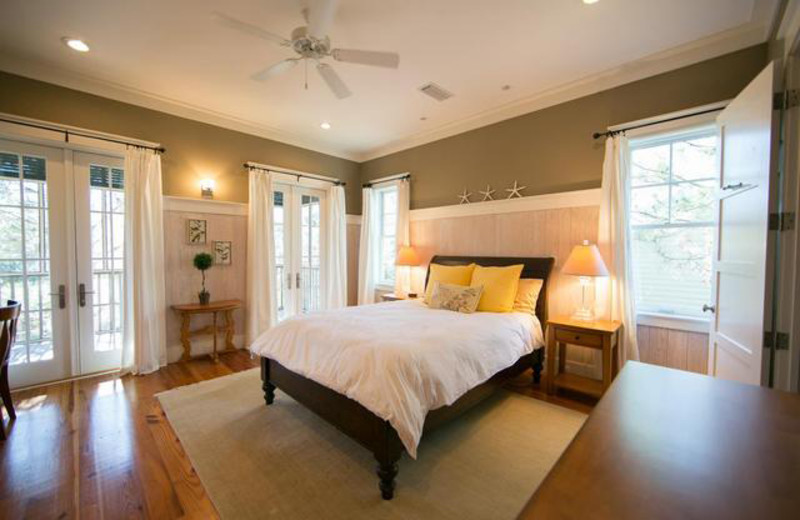 Rental bedroom at Dune Real Estate Company.