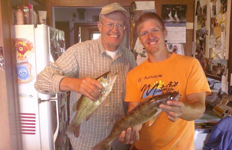 Fishing at Woodlawn Resort & Campground.
