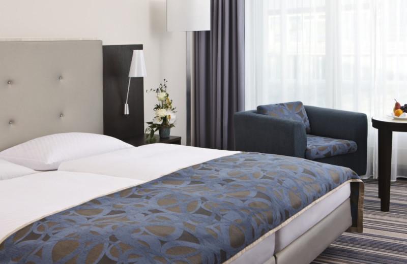 Guest room at Steigenberger Esplanade.
