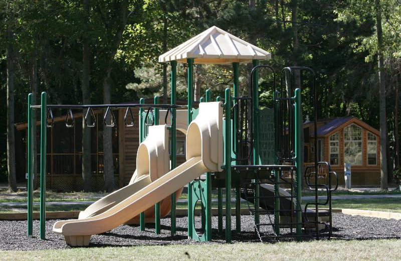 Playground at Lakeside Cabins Resort.