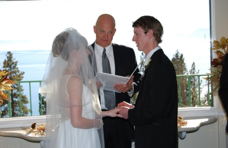 Wedding Ceremony at Cal Neva Resort Spa & Casino