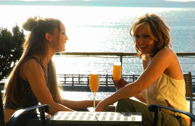 Beach Side Drinks at The Chrysalis Inn