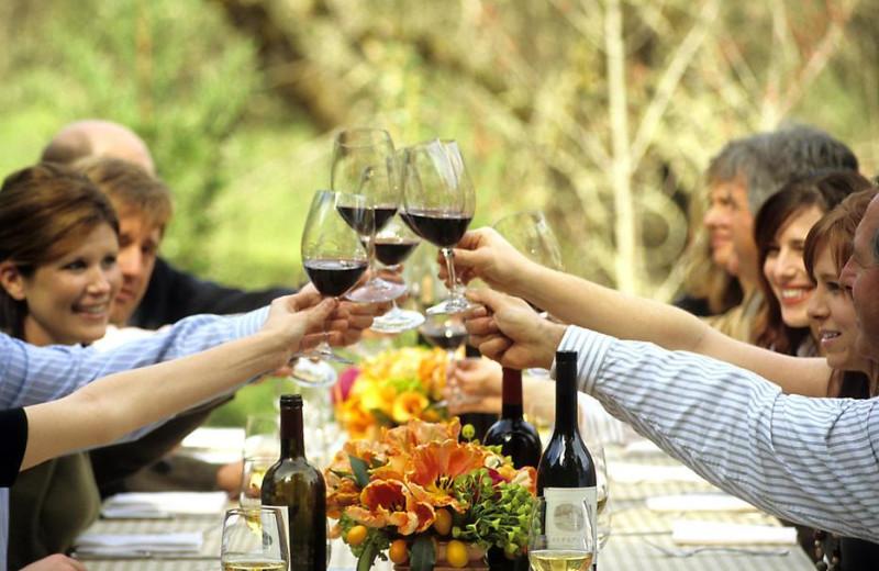 Family gatherings at Meadowood Napa Valley.