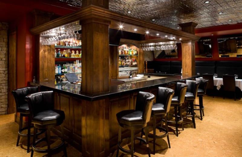 The bar at White Buffalo Club.